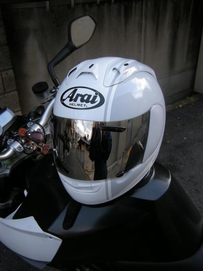 プロジェクターランプとヘルメット自家塗 - 4