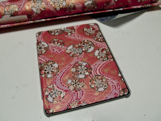 自作 iPad 和紙カバー - 1