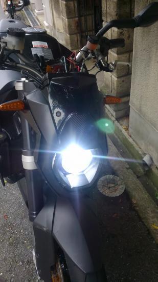LEDヘッドライトただしH4 - 1