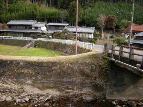 室生寺付近
